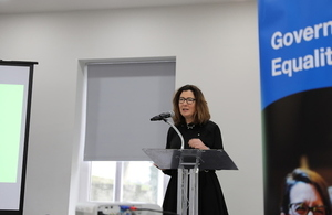 Minister for Women and Equalities Baroness Williams