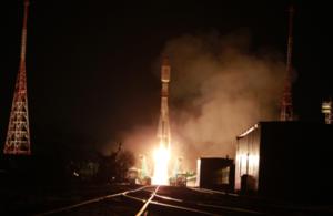 Photo of launch of OneWeb rocket