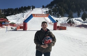 British High Commissioner Dr Christian Turner in the Swat valley