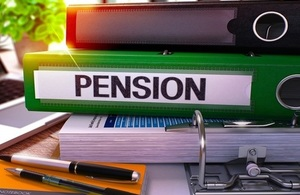 Pensions Green Office Folder