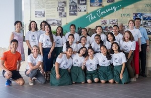 Participants of the #SGGirlsTakover programme held on Feb 6, 2020