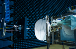 COLka undergoing testing in the Hertz test chamber at the European Space Agency in The Netherlands.
