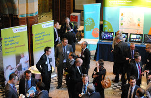 Delegates attending the British Energy Challenge in Liverpool