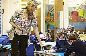 Children who need a social worker to benefit from tailored academic support