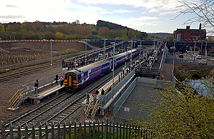 Ilkeston station opening day. Photo from Ajax46 on Flickr.
