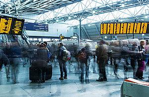 Photograph of Leeds railway station