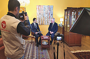 Turkmen Portal interviews British Ambassador Mr Hugh Philpott