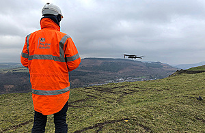 The Coal Authority is coordinating a team of technical specialists to inspect coal tips across Wales.