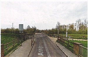 An artist's impression of what the barrier will look like.