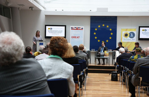 Panel discussion on the UK's role in the EU