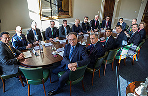 Chancellor and Bank of England Governor hold Coronavirus banking industry summit