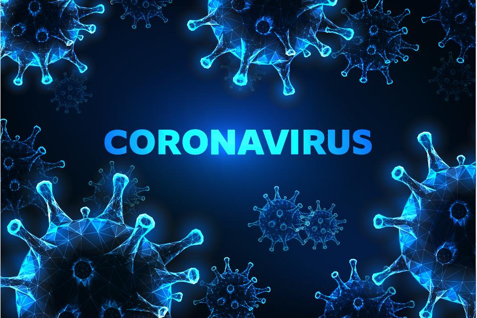 инфографика для представления коронавируса