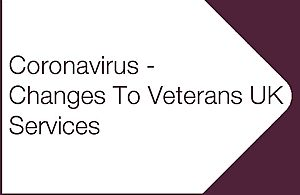 Image showing changes to Veterans UK services
