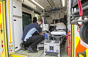 DASA and Dstl working with the Welsh Ambulance Service