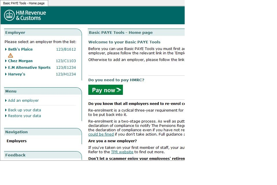 Check A National Insurance Number Using Basic Paye Tools Gov Uk