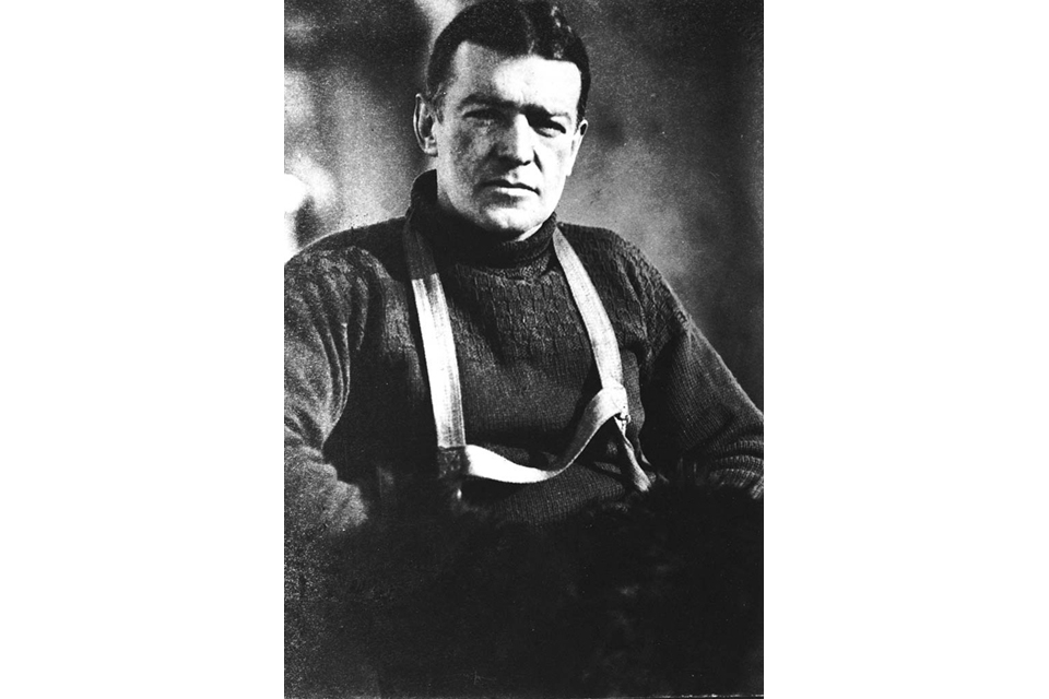 Sir Ernest Shackleton (library image)