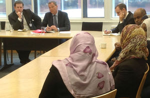 Mark Simmonds speaks to Somaliland diaspora in Cardiff