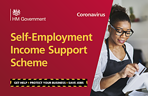 Graphic with the text 'Self-Employment Income Support Scheme'