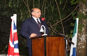 Peter West, British High Commissioner