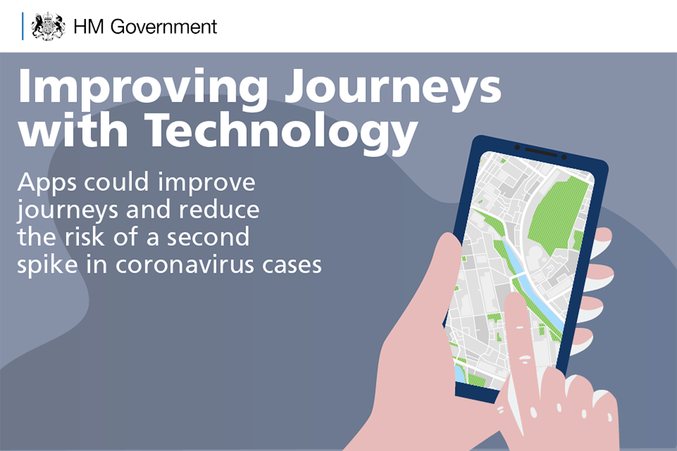 Apps could help people plan journeys better.