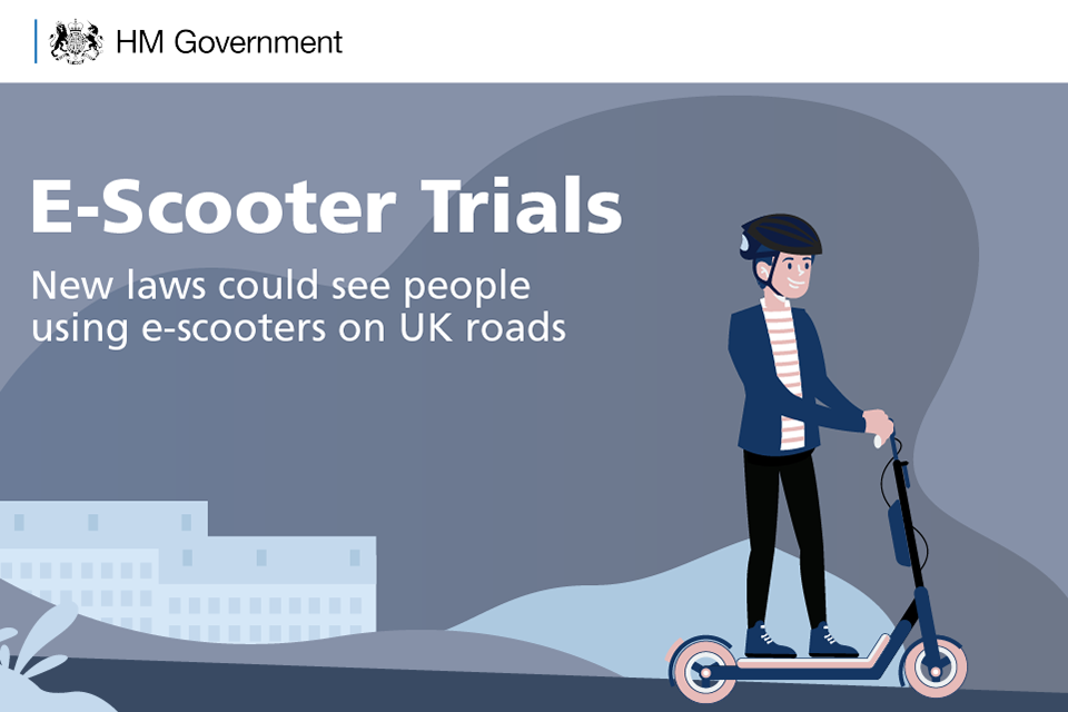 New laws could see people using e-scooters on UK roads