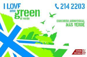 I love green / Amo el verde