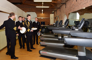 The new cardiovascular suite at HMS Temeraire [Picture: Leading Airman (Photographer) Jay Allen, Crown copyright]