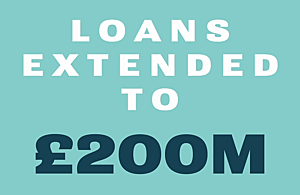 Loans extended to £200 million