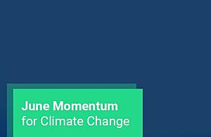 June Momentum for Climate Change logo