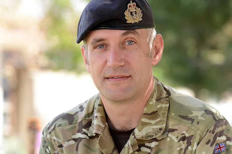 Lieutenant Jo Nicholson RNR