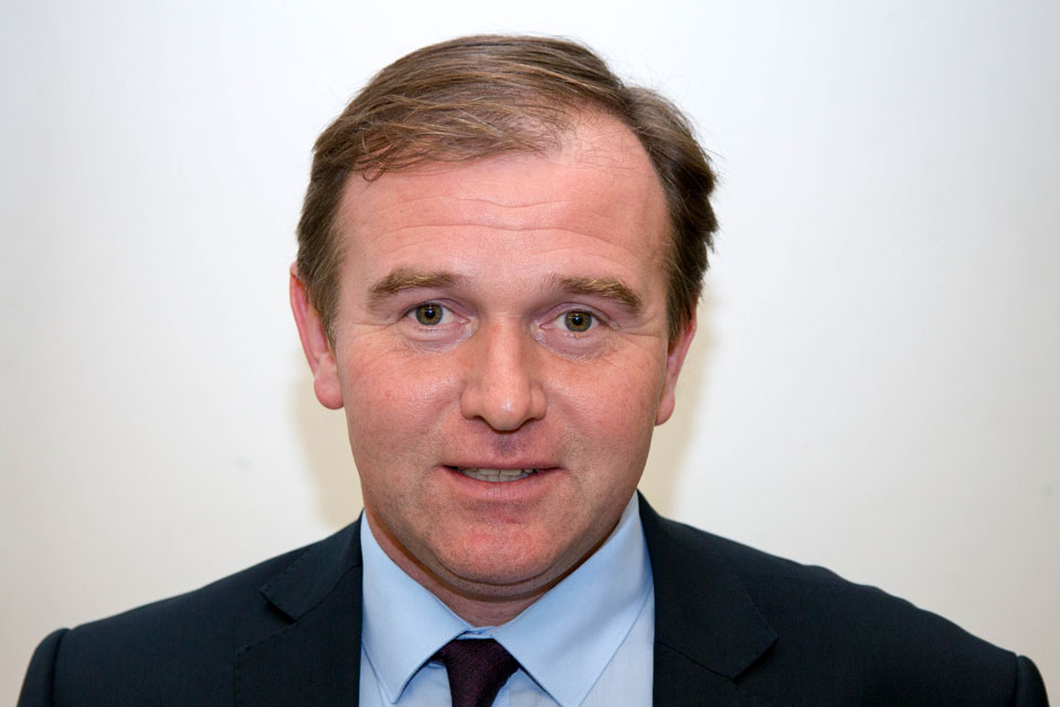 The Rt Hon George Eustice MP