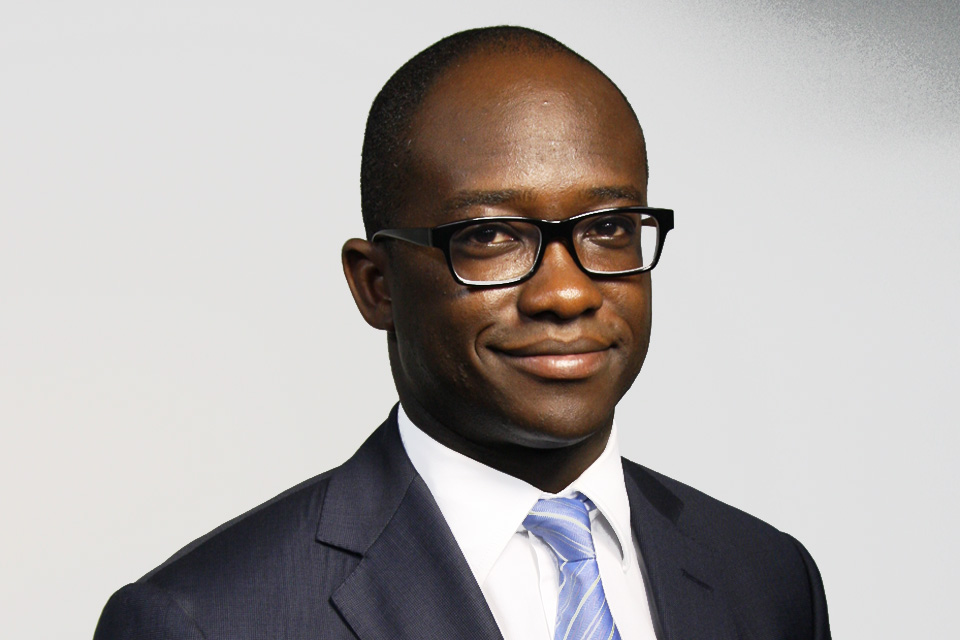 Sam Gyimah MP