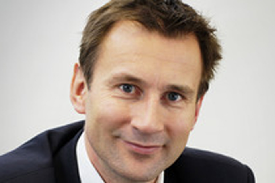 The Rt Hon Jeremy Hunt MP