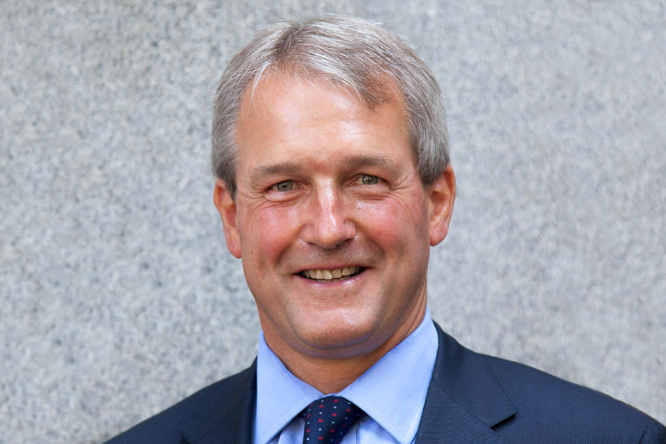 The Rt Hon Owen Paterson