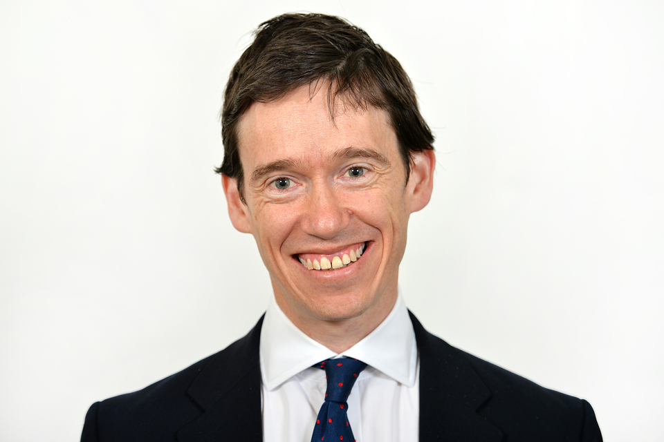 The Rt Hon Rory Stewart OBE MP