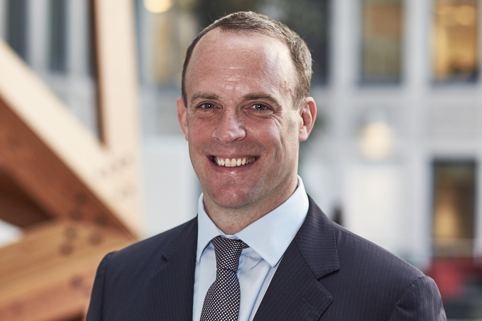The Rt Hon Dominic Raab MP