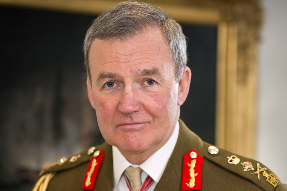 General Sir Nicholas Houghton GCB CBE ADC Gen