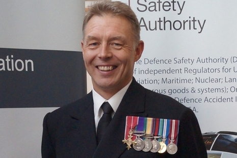 Rear Admiral Richard Thompson CBE MA BEng(Hons) CEng FRAeS RN