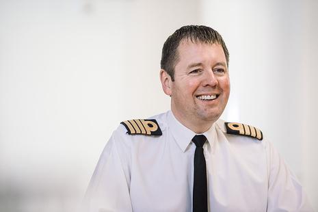 Captain Gary Hesling
