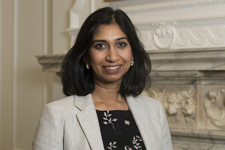 The Rt Hon Suella Braverman QC MP