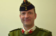 Colonel Dominic Morgan OBE