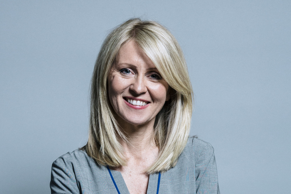The Rt Hon Esther McVey MP