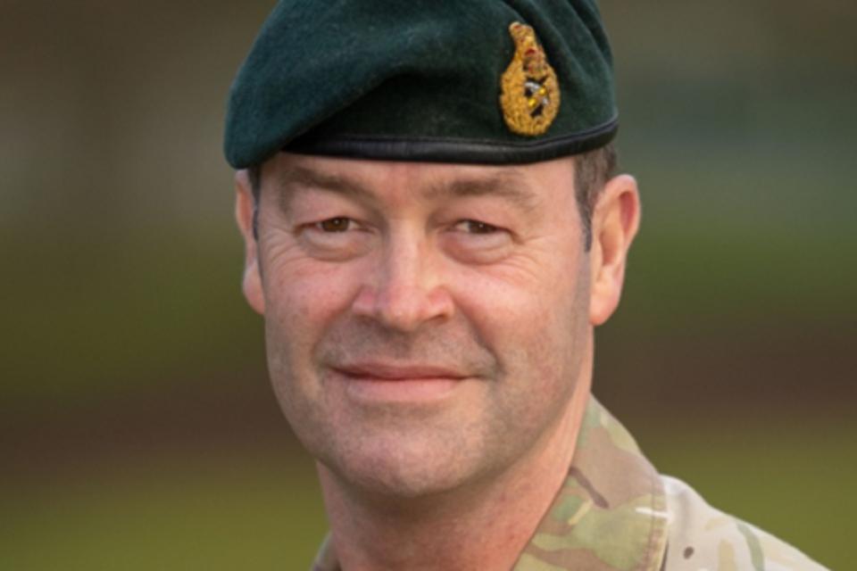 General Patrick Sanders CBE DSO ADC Gen