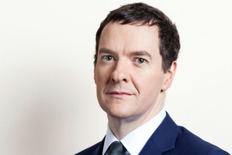 The Rt Hon George Osborne