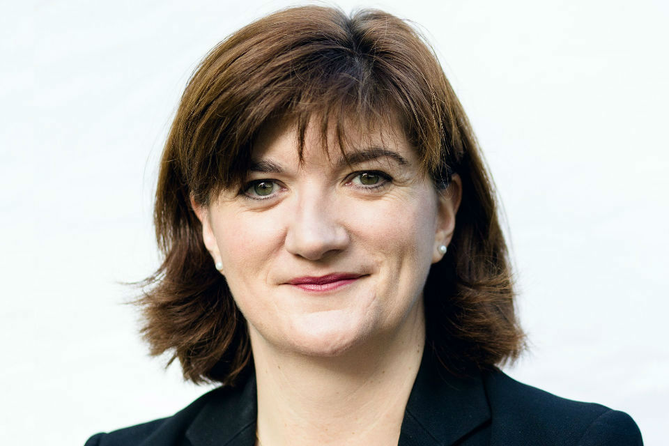The Rt Hon Nicky Morgan