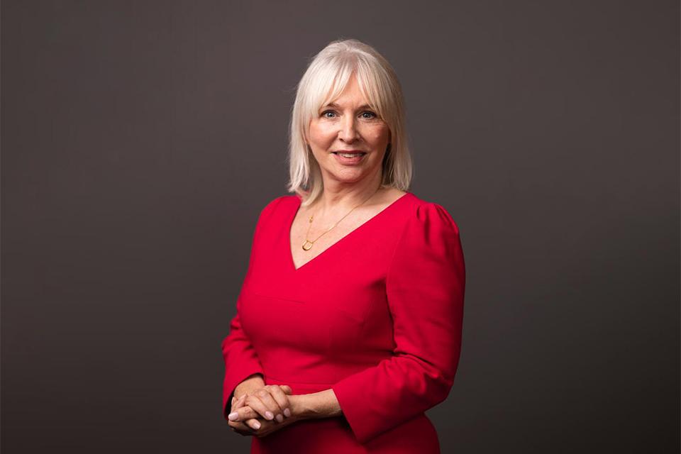 The Rt. Hon. Nadine Dorries MP