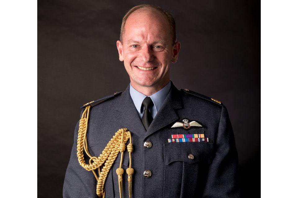 Air Chief Marshal Mike Wigston CBE ADC
