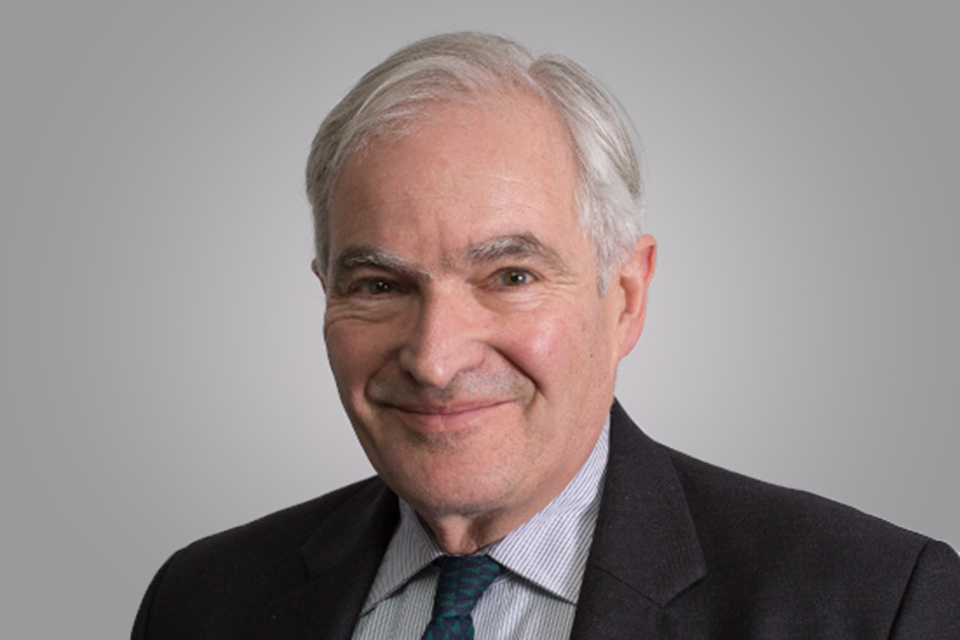 The Rt Hon Lord Henley
