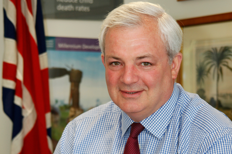 The Rt Hon Stephen O'Brien