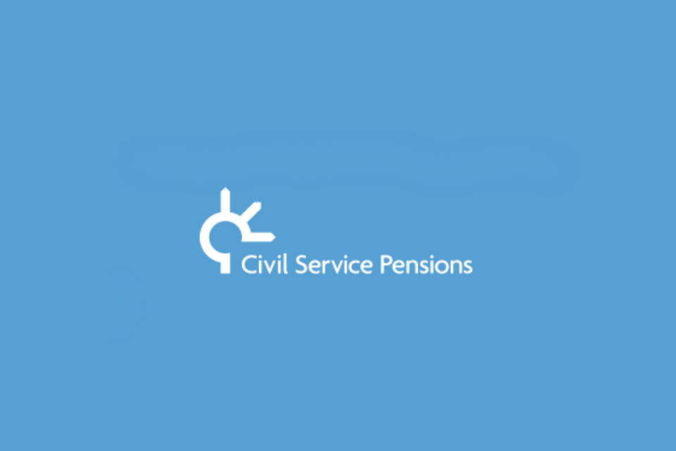 Civil Service pensions logo